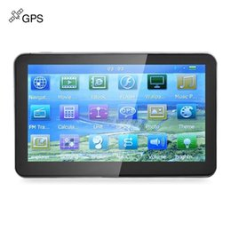 Wholesale Touch Screen Win - 704 7 inch Truck Car GPS Navigation Navigator with Free Maps Win CE 6.0 Touch Screen E-book Video Audio Game Player 186341001