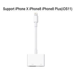 цифровая молния Скидка Молния к переходнике HDMI, iPhone iPad к HDMI женский видео цифровой AV ConverterAdapter для iPad iPhone iPad поддержка iOS 12