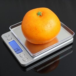 Wholesale Brands Electronics - Brand New 3000g x 0.1g Digital Pocket Scale 2kg0.1 3000g 0.1 Jewelry Scales Electronic Kitchen Weight Scale food 0.01g pocket scale 500g