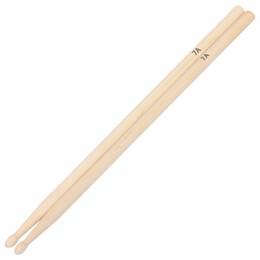 Wholesale wholesale drum kits - Wholesale-1 Pair Maple Wood 7A Drum Sticks Rock Band Practice Percussion Drumsticks Drum Stick