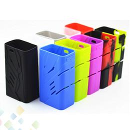 Wholesale Soft Sleeve Case - Smok T-Priv 220W Silicon Case Skin Cases Colorful Soft Silicone Sleeve Cover Skin For Smoktech 220W T-Priv Box Mod DHL Free