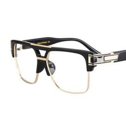 Wholesale Occhiali Da Sole Sunglasses - Peekaboo Top quality men sunglasses 2017 brand design big square semi rimless sun glasses men luxury unisex UV occhiali da sole