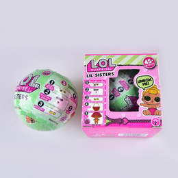 Wholesale Big Plastic Dolls - 10cm 7.5cm Big LOL Surprise Dolls Series 2 with Full Functions and Original Packaging Dress Up Toys Baby Tear Change Egg Dolls