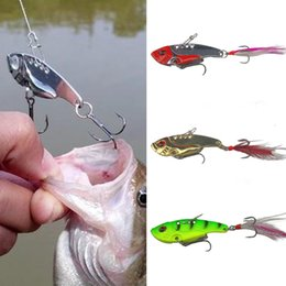Wholesale Ice Fishing Spoons - Good Quality Outdoor Fishing Lure Mixed Colors Metal Spoon Bait Soft Lures Kit Wobbler Frog Fishing Baits Reusable Fish Tackle