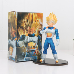 Wholesale Finish Model - 20cm DRAGON BALL Z vegeta Figure Super Saiyan SCultures big 6 special version pvc figure action model toy kids gifts