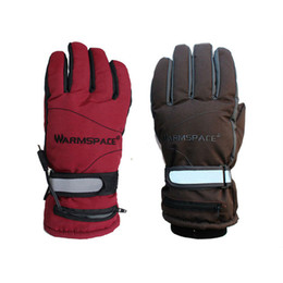 Wholesale Men S Brown Leather Gloves - Wholesale- USB Electric Heating Gloves,Electric Rechargeable Heated Gloves,Lithium Battery Winter Warm Ski Outdoor Sport Gloves Women Men