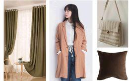 Wholesale Pure Linen Bedding - 5M LOT 100% Linen Pure Color Fabrics Of Flax Linen Plain Clothing Sofa Pillows Decorative Handicrafts Cloth