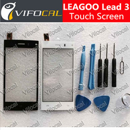 Wholesale Led Mobile Phone Accessories - Wholesale- Leagoo Lead 3 Touch Screen Digitizer 100% Original Panel Assembly Replacement Accessory For Mobile Phone - Free shipping