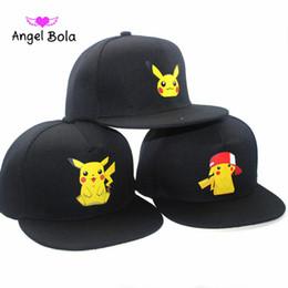 Wholesale Cartoon Hats For Sale - Angel Bola Animation Hot Sale New Arrival Cartoon Comics Snapbacks Adjustable Sport Hats for Man Woman Baseball Caps Fashion Hip Hop Caps