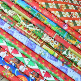 Wholesale Custom Gift Wrapping Paper Wholesale - 520*750mm Christmas Gift Wrapping Paper Greaseproof Pape Gift Packaging Presnet Wrap DIY, custom made color