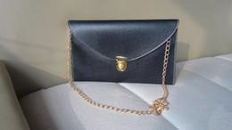Wholesale Envelope Clutch Messenger Bag - New Womens Envelope Clutch Chain Shoulder Hand Bag PU Leather Leather Messenger Bag jute messenger bag