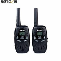 Wholesale Radios Communicators - 2pcs Retevis RT628 Kids Walkie Talkie Mini Radio 8CH 0.5W UHF 462-467MHz Children cb Portable Toy Radio Communicator A1026