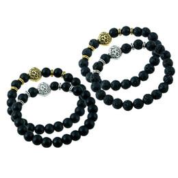 Wholesale Vintage Buddha - Vintage Lava Beads Bracelet Buddha Bracelet Pulseiras Masculinas Natural Stone Lion Bracelet Women pulseras Men Jewelry Yoga Bracelets gift