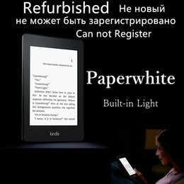 Wholesale Ebook Reader Light - Wholesale- kindle paperwhite 2 built in light ebook e book reader e ink ereader e-ink electronic e-book cover gift have(kobo nook instock