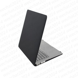 "Wholesale macbook rubberized cover - 100PCS Matte Rubberized Hard Case Cover Full Body Protector Case Cover for Apple Macbook Air Pro 11'' 12'' 13"" 15"""