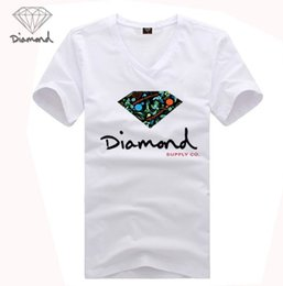 Wholesale Diamond Supply Cheap - 2017 Free Shipping G882551M Brand Cheap 20 styles DGK Diamond Supply T-Shirts quality short sleeve tops