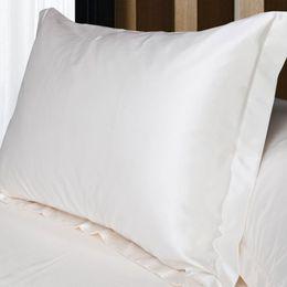 Wholesale Satin Pillowcases Wholesale - Wholesale- Silk Pillow Case Double Face Envelope Silk Pillowcase Silk Satin Pillow Case Multiple Colors