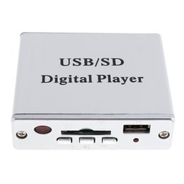 Wholesale Keypad Reader - DC 12V Digital Auto Car Power Amplifier MP3 Audio Player Reader 3-Electronic Keypad Control Support USB SD MMC Card with Remote CEC_806