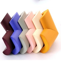 Vente en gros- 8pcs doux enfant sécurité verre étagère de bureau meubles table coin gardes coussins pad couleurs aléatoires pour bébé enfants tout-petit ? partir de fabricateur