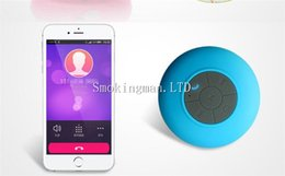 Wholesale Docking Music - Hotsell Portable Waterproof Wireless Bluetooth Speaker mini Suction IPX4 speakers Shower Car Hand free Receive Call & Music Car Speaker
