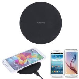 2019 almohadilla de carga inalámbrica 5v 2018 Quick Wireless Charger para Samsung Galaxy S8 Plus S7 para iPhone X 8 Note8 Pad de carga rápida 9V 1.67A / 5V 2A rebajas almohadilla de carga inalámbrica 5v