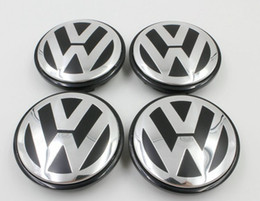 Vw hub caps on-line-20 pçs / lote 70mm 7L6 601 149B 7L6601149B VW RODA HUB CENTER CAP para VW 2008-2010 Touareg