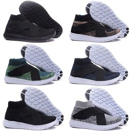 Wholesale Barefoot Trainers - Newest Men Air 5.0 RACER High Ankle Running Shoes Barefoot Free Run Sports Sneakers Trainers Size 40-45