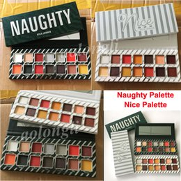 Wholesale Glitter Christmas - Kylie Jenner Cosmetics 14 Color Eyeshadow Palette Kylie Naughty eyeshadow Kyshadow Nice palette Eye shadow Christmas DHL Free Shipping