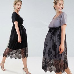 11763cb39d8 Pregnant Women Evening Party Dress Elegant Modal Lady Vestidos Summer Dress  Plus Size Maternity Dress Gestantes Roupas Clothes