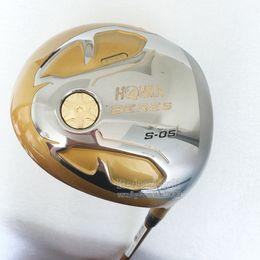 Wholesale Loft Golf Driver - New Golf clubs HONMA BERES S-05 4 Star Golf Driver 9.5 10.5 loft graphite Golf shaft driver clubs headcover Free shipping