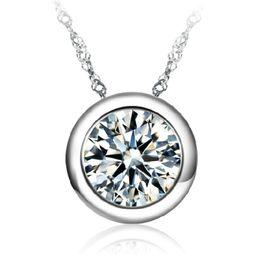 Wholesale Gold Eternal Love Pendant - 50 pcs Retro all round necklace silver pendant love eternal pendant FREE SHIPPING