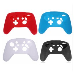 Wholesale Replacement Game Cases - Silicone Skin Cover Anti-slip Protective Case Replacement For Nintendo Nintend Switch Pro Controller Bag for Nintend Switch Game Controller