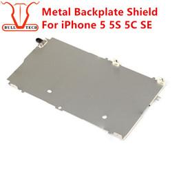 Wholesale Iphone Back Digitizer - Metal Shield Plate Bezel For iPhone 5 5S 5C SE 5g LCD Digitizer Back Screen Backplate Replacement Repair Refurbish Parts Original OEM