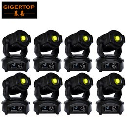 Wholesale Focused Lighting - Discount Price 8 Pack 90W LED Spot Moving Head Lights DMX512 Control USA Luminus Led Moving Head Gobo Prism Function Electronic Focus Zoom