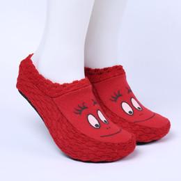 Wholesale Wholesale Women House Slippers - Wholesale-2016 women winter indoor home cute slippers woman house floor slipper socks plush soft shoes