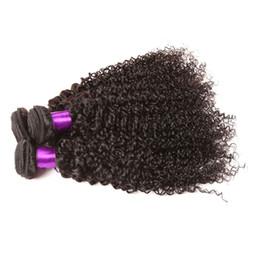 Non Transformés 8A Brésiliens Bouclés Vierge Cheveux Péruvienne Malaisienne Indien Cambodgien Mongol Profonde Bouclés Vague de Cheveux Humains Weaves Bundles Doux Plein ? partir de fabricateur