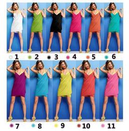 Wholesale Plus Size Towels - PrettyBaby 11 colors Halter Skirt Swimwear Women One Piece Swimsuit Beachwear Swim dress Plus size Bathing Suit body wrap bath towel