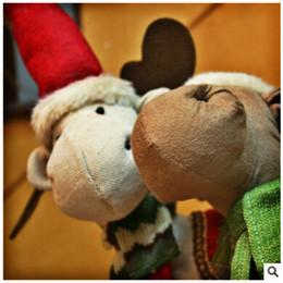 2019 korea zuhause dekorationen Karikatur-Weihnachtspuppe Navidad Korea Style Reindeer Doll Beste Weihnachtsdekoration für Hauptweihnachtsgeschenke günstig korea zuhause dekorationen