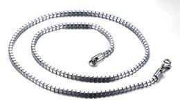 Wholesale Grace Boxes - Grace and Elegant Men Women Necklaces Box Chain Clavicle Chain 24inch Long Stainless Steel Chain High Quality NC-033
