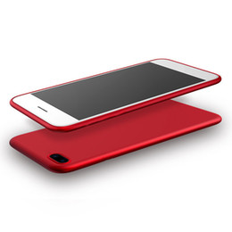 Celulares chineses on-line-2017 chinês vermelho macio tpu case para iphone 7/7 plus celular case produto vermelho edição especial completa cobertura de 360 graus saco de opp 200 pcs