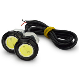 Wholesale Eagle Eye 23mm - 2pcs lot 23mm 10W 9W 3w DRL eagle eye led reverse lights backup parking lights stop lights lamp