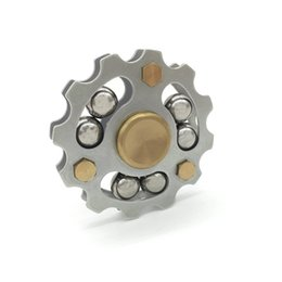 Wholesale Rohs Steel - Premium Hot Wheel Metal Fidget Spinner Ceremic Bearing 5min Spinning CE RoHs EN71 Brass SUS Machined 6 Steel-Balls EDS Metal Spinners