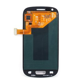 Wholesale Lcd Screen Galaxy S3 Mini - For Samsung Galaxy S3 mini i8190 SIII Mini LCD Display Touch Screen Digitizer Full Assembly Tactil Ecran Glass