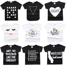 Argentina Negro Blanco Summer Baby Boys Camisetas Niños Tops Algodón Baby Girl Clothes Camisetas para niños Camisetas para niños Jerseys Bebe Ropa Casual Chaleco Suministro