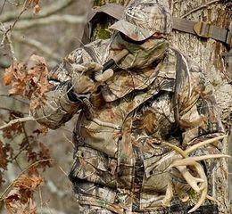 Argentina Verano otoño delgado biónico camuflaje caza Ghillie trajes respirable impermeable silenciador ejército ventiladores compuesto arco uniforme chaqueta táctica Suministro