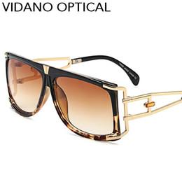 Wholesale Rectangle Shapes - Vidano Optical 1pc and Wholesale New Luxury Square Shape Men Sunglasses Women Gradient Summer Designer Style Glasses UV400 Free Shipping