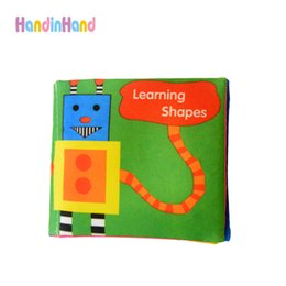 Wholesale Soft Cloth Books For Infants - Wholesale- Soft Cloth Book For Baby Early Learning Educational Toys Crib Bed Infant Development Baby Toys 0-12 Months