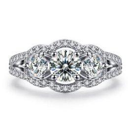 Wholesale Halo Cushion Cut Diamond Rings - 2.08 Ct Cushion Cut Enhanced D Vs Halo Diamond Engagement Ring 14K White Gold