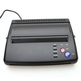 Wholesale Tattoo Stencil Copier Machines - High Quality Tattoo Black Themrmal Copier Machine Top Stencil Maker Machine TC203