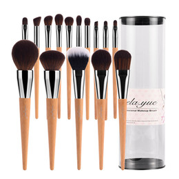 Wholesale Pro Kit Tool Case - vela.yue Pro Makeup Brushes Set Full Function Travel Face Cheek Eyes Lips Beauty Tools Kit with Case Cruelty-free Technology Collections